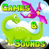 Dino Toddler Games & Sounds