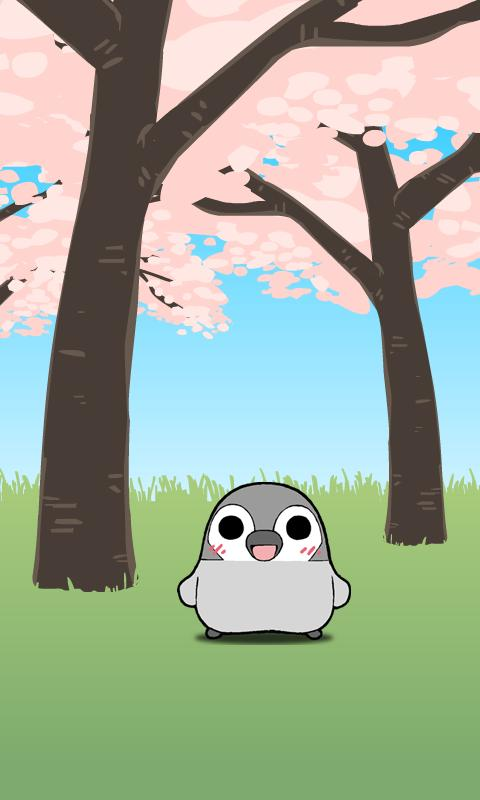 Pesoguin LWP SAKURA Full Ver.- screenshot