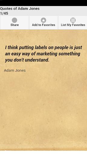 Quotes of Adam Jones