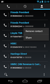 0870 0844 0800 Free Call APK screenshot thumbnail 4