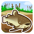 Cat fish Fry Fishing icon