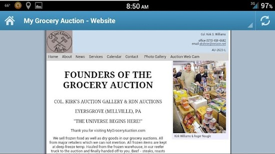 The Auction Gallery, Co- screenshot thumbnail