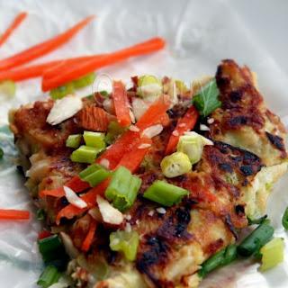 "Okonomiyaki aka ""Japanese Pizza"""