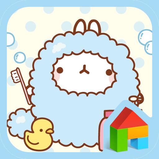 个人化のモルランが風呂に入ろうドドルランチャーのテーマ LOGO-記事Game
