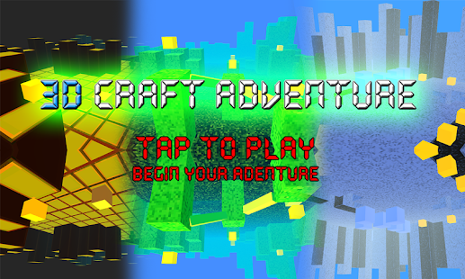 3D Craft Adventure FREE