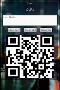 QuRo-QR Code Generator- screenshot thumbnail