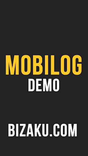 Bizaku Mobilog Demo 1.0 screenshots 1