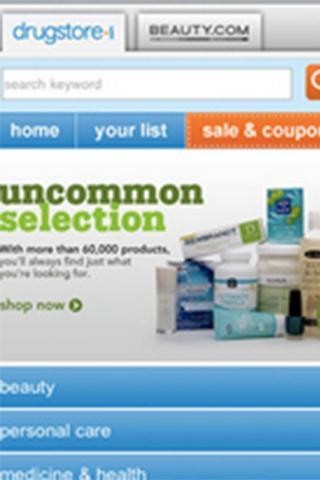 Drugstore.com QuickLink