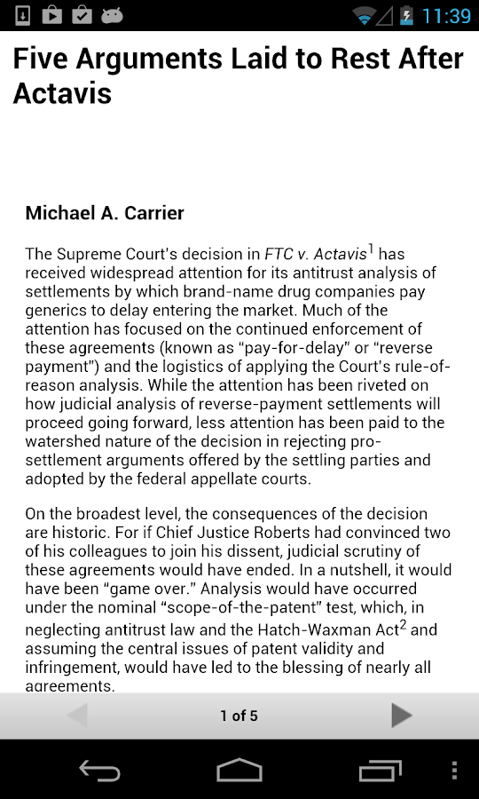 The Antitrust Source- screenshot