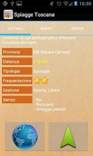 Spiagge Italia Toscana Free- screenshot thumbnail