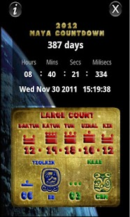 2012 Maya Countdown - screenshot thumbnail