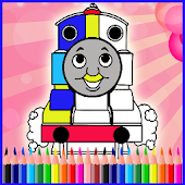 Coloring Train for Kids