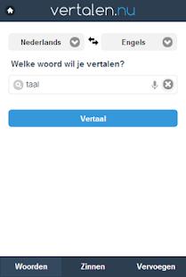 Vertalen.nu - screenshot thumbnail