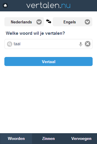Vertalen.nu - screenshot
