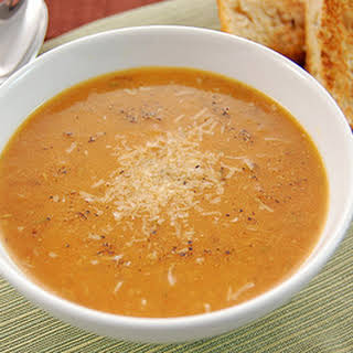 Roasted Garlic and Tomato Soup.