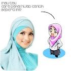 Tutorial Hijab Fashion Style icon
