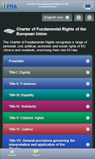 EU Charter - screenshot thumbnail