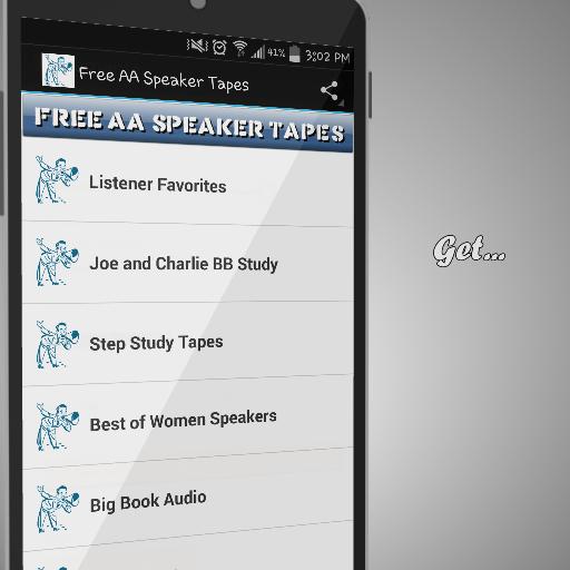 Free AA Speaker App