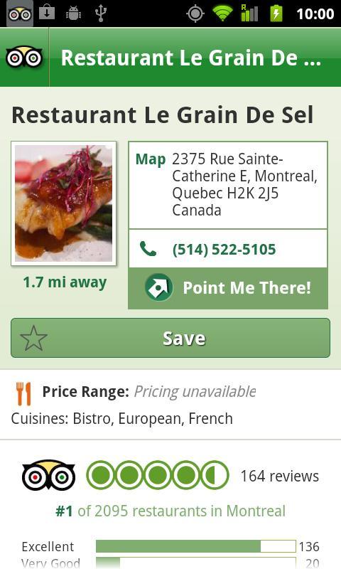 Montreal City Guide screenshot #4