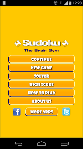 Sudoku - The Brain Gym