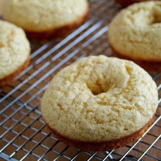 Powdered Sugar Doughnuts.