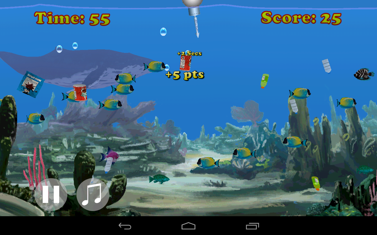 Ocean Hunt- screenshot