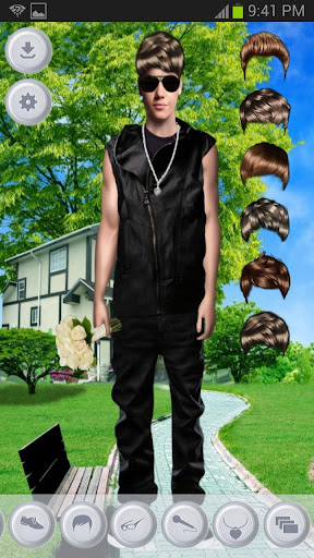 【免費生產應用App】Justin Bieber Dress Up Free-APP點子