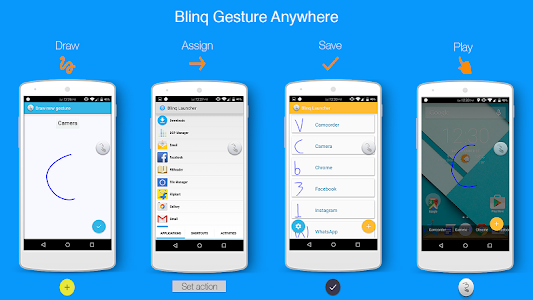 Blinq Lollipop Launcher v2.0