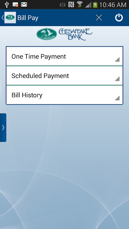 Chesapeake Bank Mobile Banking - screenshot