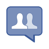 Mobile facebook with chatting