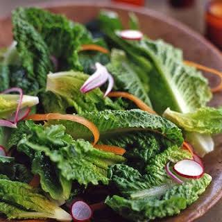 Crisp Romaine Salad.