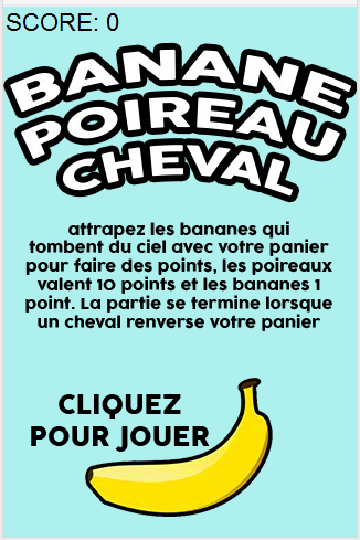 Banane Poireau Cheval