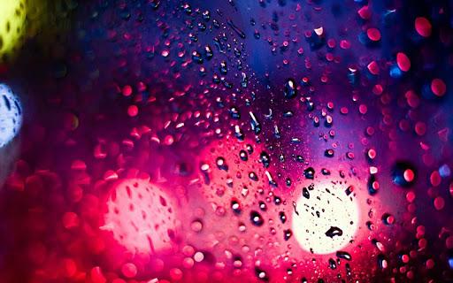 玻璃上的雨滴 5D