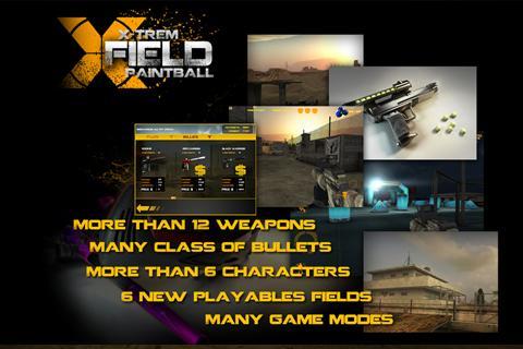 XField 彩弹:第一款3D手机和平板电脑的彩弹射击游戏。