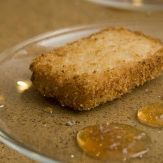 Lemon Ginger Risotto Panko Cakes.