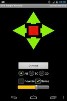 Screenshot of EV3 Simple Remote