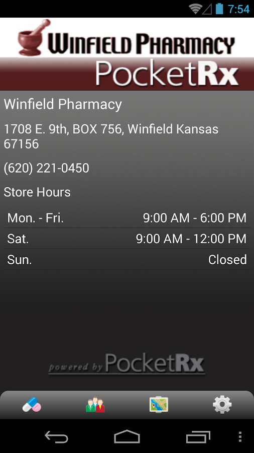 Winfield Pharmacy- screenshot
