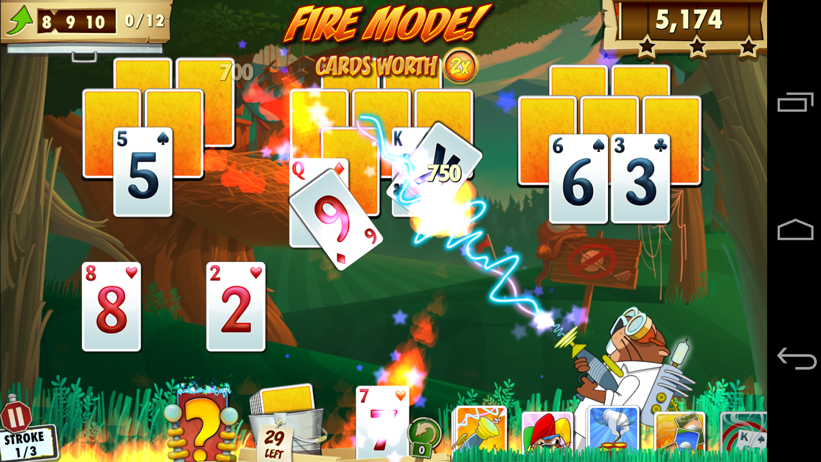 Fairway Solitaire Blast- screenshot