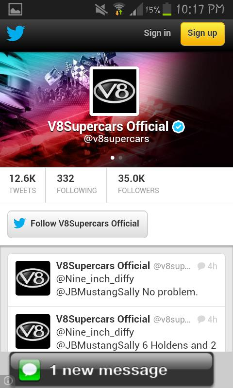 V8 Supercars News- screenshot