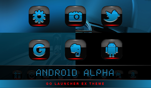 【免費個人化App】GO Theme Android Alpha-APP點子