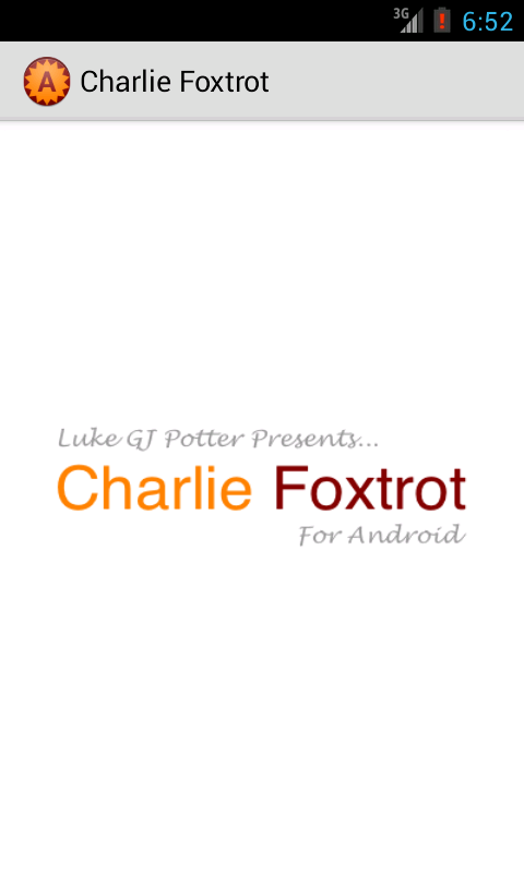 Charlie Foxtrot - screenshot