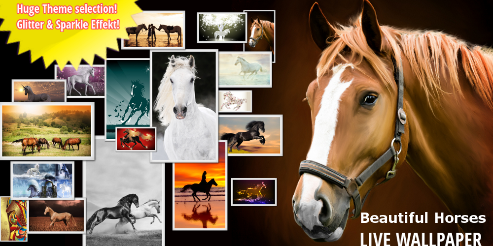 BEST HORSES LIVE WALLPAPER HD - screenshot