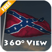 Real Rebel Flag Live Wallpaper