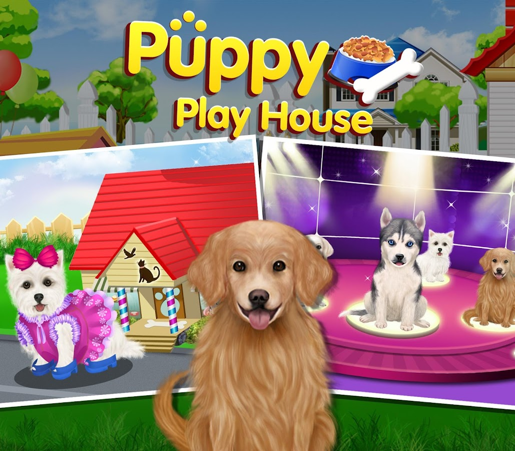 Puppy Dog Sitter Puppy Dog Sitter Play House Android Apps On Google Play