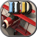 3D plane defense HD icon