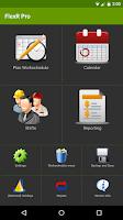 Screenshot of FlexR Pro (Shift planner)
