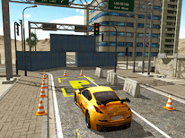 Screenshot of Drift Parking Academy 3D