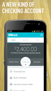 GoBank - screenshot thumbnail