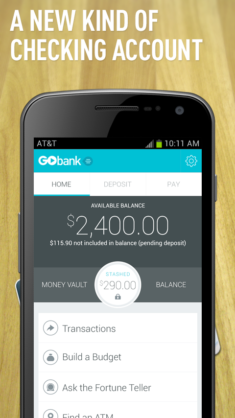 GoBank - screenshot