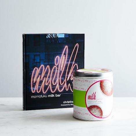 Milk Bar Cookbook & Crack Pie Gift Set, Signed